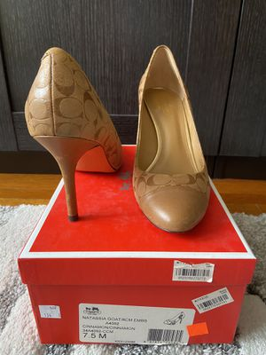 COACH HIGH HEELS SHOES PUMPS for Sale in Los Angeles, CA