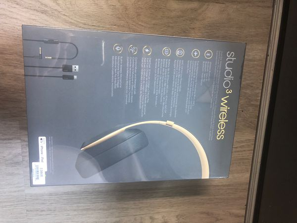 Beats studio 3 wireless (never used! Sealed box)