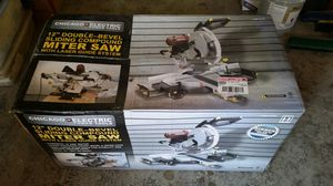 Chicago electric sliding compound miter saw for Sale in Arlington, WA