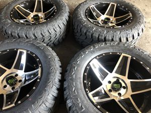 20x10 moster wheels for Sale in Austell, GA