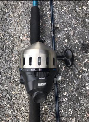 Brand New never used still has tag. Zebco 808 fishing reel and rod for Sale in New Market, MD