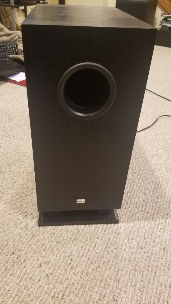 Onkyo powered subwoofer