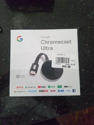 Google Chromecast Ultra for Sale in Houston, TX
