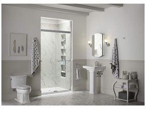 Kohler K-707200-L-ABZ Revel Shower Door, 80.94 4.00 38.81, Crystal Clear glass for Sale in Union, NJ