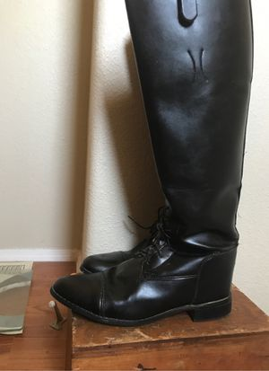 English riding show boots for Sale in Glendale, AZ