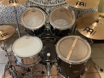 Fender Drum Set with Meinl Cymbal Set for Sale in Portland,  OR