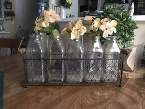 Milk bottle and carrier for Sale in Moreno Valley, CA