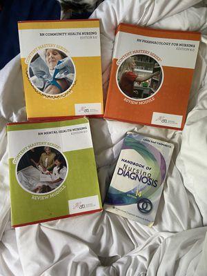 Nursing School Books - Older - Chamberlain for Sale in Columbus, OH