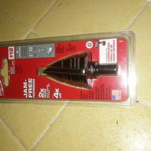 MILWAUKEE #12 JAM FREE STEP DRILL BIT for Sale in Temple City, CA