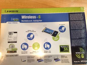 Linksys wireless notebook adapter for Sale in Chicago, IL