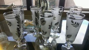 7 pc antique glasses for Sale in Portland, OR
