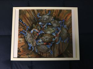 Maryland Crabs art with frame for Sale in Washington, DC