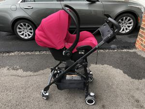 Maxi-Cosi Mico AP Infant Car seat Rose Pink With Black Base & Maxi-Taxi Stroller for Sale in Carnegie, PA