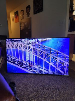 Samsung 2017 60 inch 4k HDR 120 Motion Rate LED TV for Sale in San Pedro, CA