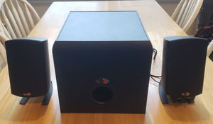 Klipsch ProMedia 2.1 THX Subwoofer with 2 Computer Speakers for Sale in Fort Mill, SC