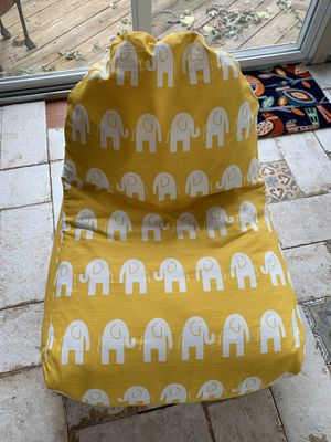 Majestic Home Goods bean bag chair for Sale in Pennington, NJ