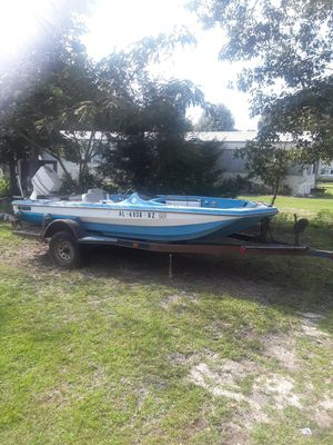 Boat,Motor and Trailor..Needs Floor for Sale in Deatsville, AL