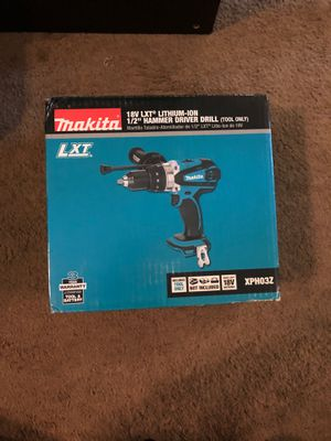 Makita XPH03Z 18V LXT Lithium-Ion Cordless Hammer Driver Drill, 1/2-Inch for Sale in Washington, DC