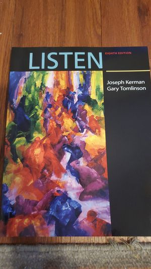Listen 8th Edition Textbook for Sale in Lubbock, TX