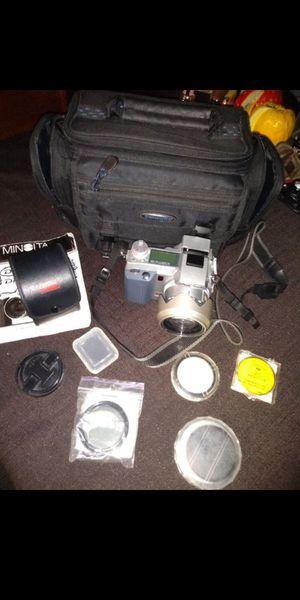 Minolta Dimage 7i Digital Camera 5.0MP Plus Multiple Lenses for Sale in Tucson, AZ
