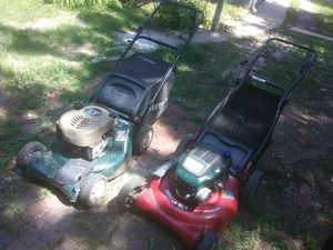 2 craftsman mowers for Sale in Lincoln, NE