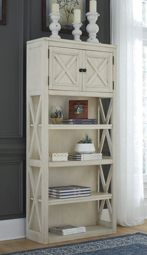 White/Oak Large Bookcase | H647 for Sale in Houston, TX