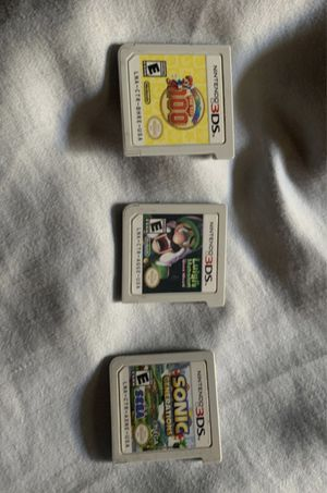 Games for Nintendo 3ds for Sale in Long Beach, CA