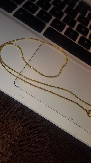 "Two 16"" 18kt Gold Filled Necklaces for Sale in Lemoore, CA"