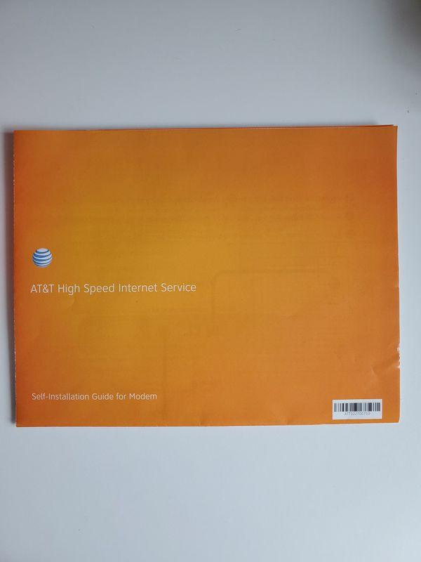AT&T High Speed Internet Modem