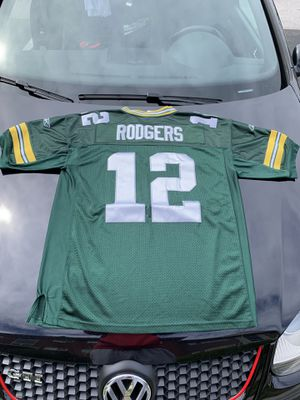 Size 52 Reebok Aaron Rodgers Stitched Jersey for Sale in Parkville, MD
