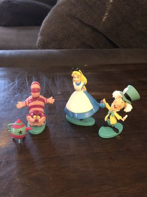 Disney's Alice in wonderland figures for Sale in Cary, NC