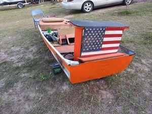 14ft aluminium boat for Sale in Avon Park, FL
