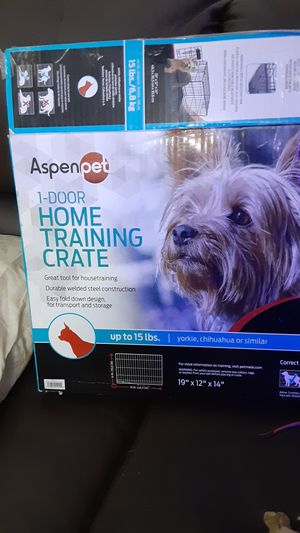 Aspen/pet 1 door home training crate for Sale in Glendale, AZ