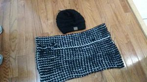 Black cc hat and neck scraf for woman for Sale in Washington, DC