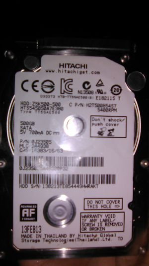 500gb thin laptop harddrive for Sale in Fresno, CA