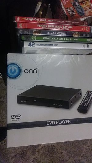ONN DVD PLAYER 5DVDS for Sale in Phoenix, AZ