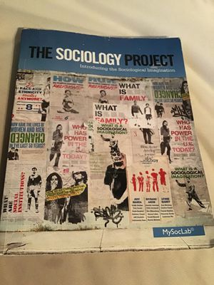 The Sociology Project for Sale in Brockton, MA
