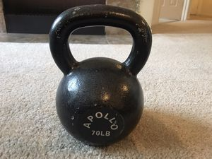 70 lb kettlebell for Sale in Sammamish, WA