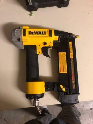 Dewalt finish nail gun. for Sale in Las Vegas, NV