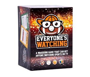 Everyone's Watching - A Sports Board Game That Makes TV Sports Better for Sale in Sterling Heights, MI