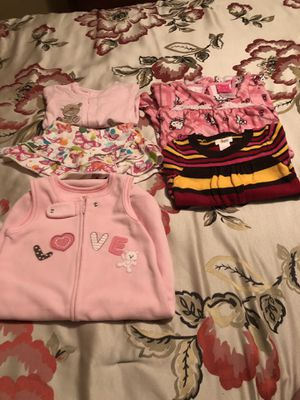 Baby girl clothe various sizes for Sale in Winfield, NJ