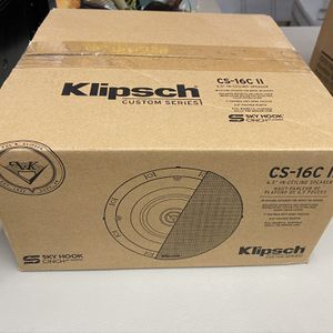 Klipsch CS-16c II Single Speaker for Ceiling Center Channel. for Sale in Lakewood, WA