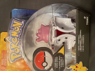 Pokemon Throw 'N' Pop Ditto + Poke Ball - Brand new for Sale in Houston,  TX