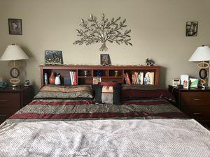 Prepac CBK-8400-K King Sonoma 6 Drawers, Cherry Platform Storage Bed for Sale in Salt Lake City, UT