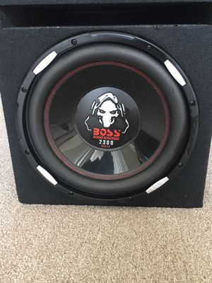 Boss subwoofer & amp for Sale in Colma, CA