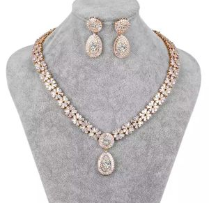New beautiful jewelry earring, bracelet and necklace set for Sale in Troy, MI