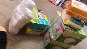 pampers size NB , 1,2 for Sale in Vallejo, CA