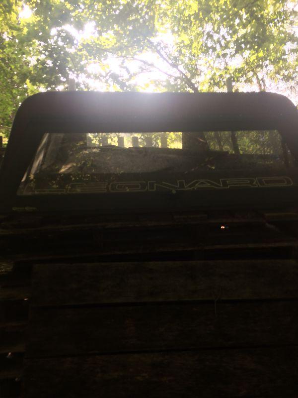 Truck camper good shape