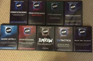 Timothy Sykes 11 DVD Collection + Tim Grittani Trading Tickers DVD for Sale in Los Angeles, CA