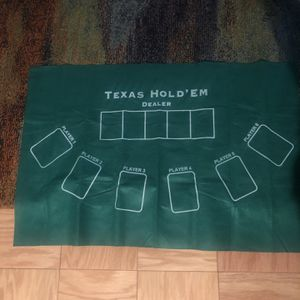 Texas Hold Em Table Mat for Sale in New York, NY